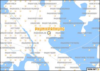 map of Phumĭ Krânhung