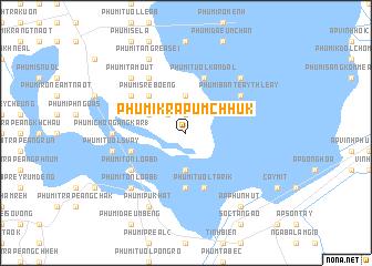 map of Phumĭ Krâpŭm Chhuk