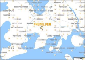 map of Phumĭ Lvéa