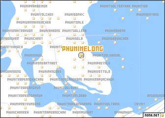 map of Phumĭ Mélông