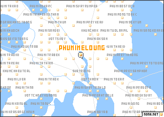map of Phumĭ Méloŭng