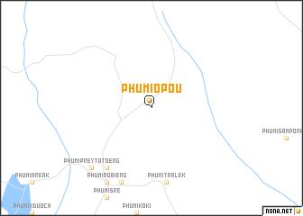 map of Phumĭ O Poŭ