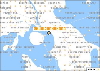 map of Phumĭ Panh Nhŏng