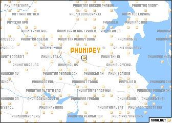 map of Phumĭ Pey