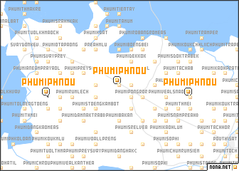 map of Phumĭ Phnŏu