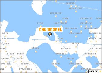 map of Phumĭ Pôpél