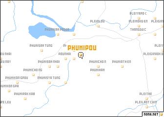 map of Phumĭ Poŭ