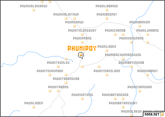map of Phumĭ Pôy