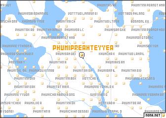 map of Phumĭ Preăh Teyyéa