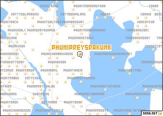 map of Phumĭ Prey Srâkum (1)