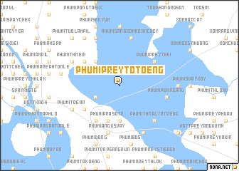 map of Phumĭ Prey Tôtœ̆ng