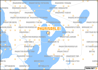 map of Phumĭ Sâmlei