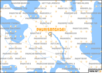 map of Phumĭ Sâng Kdei