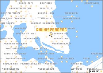 map of Phumĭ Srê Bœ̆ng