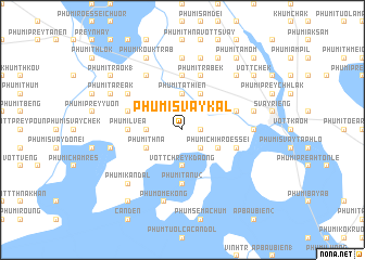 map of Phumĭ Svay Kal