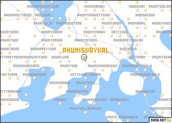 map of Phumĭ Svay Kal