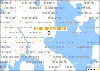 map of Phumĭ Svay Kaông