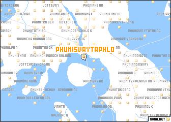 map of Phumĭ Svay Taphlô