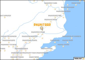 map of Phumĭ Ta Âr