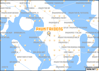 map of Phumĭ Takœ̆ng