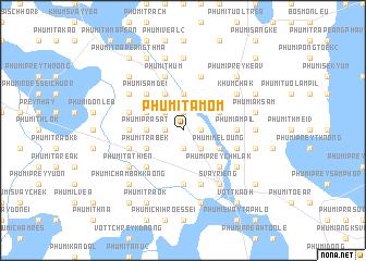 map of Phumĭ Ta Mŏm