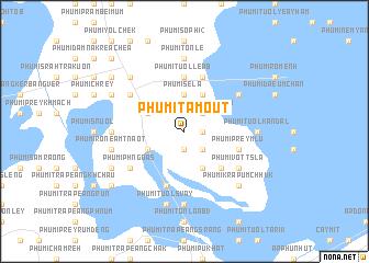map of Phumĭ Ta Moŭt