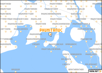 map of Phumĭ Tanu (2)
