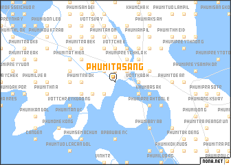 map of Phumĭ Ta S\