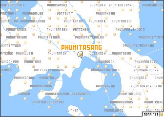 map of Phumĭ Ta S\