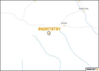 map of Phumĭ Tatay