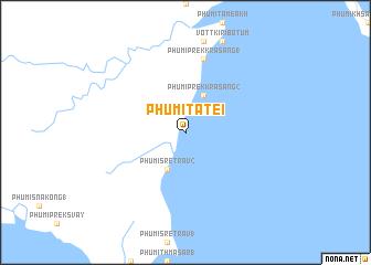 map of Phumĭ Ta Tei