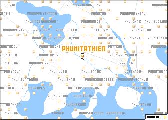 map of Phumĭ Tathiĕn