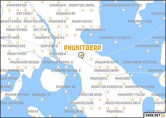 map of Phumĭ Tœăr