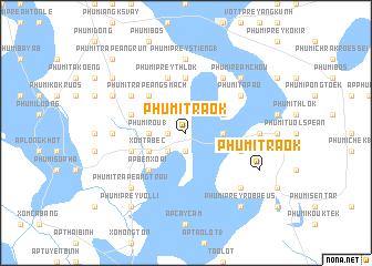 map of Phumĭ Traôk