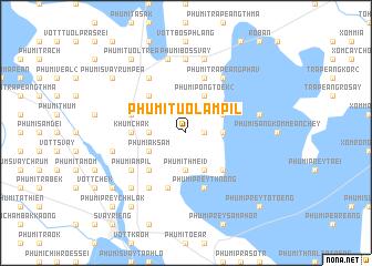map of Phumĭ Tuŏl Âmpĭl