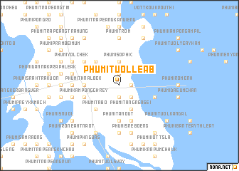 map of Phumĭ Tuŏl Léab