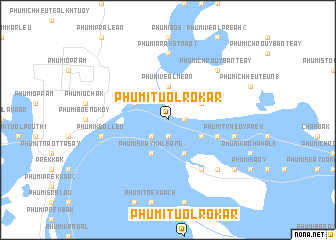 map of Phumĭ Tuŏl Rôkar