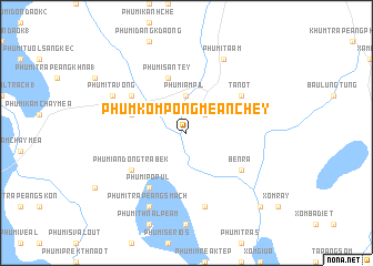 map of Phum Kompong Mean Chey