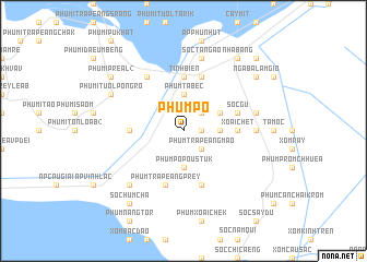 map of Phum Pô
