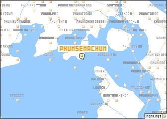 map of Phum Séma Chum