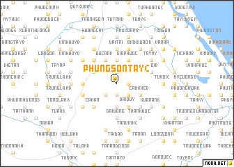 map of Phụng Sơn Tay (2)