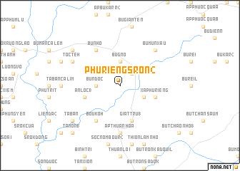 map of Phú Riềng Sron (2)