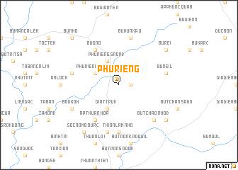 map of Phú Riềng
