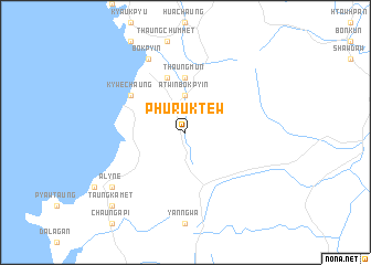 map of Phuruk Tew