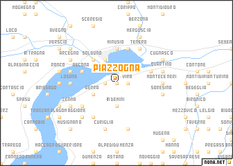 map of Piazzogna