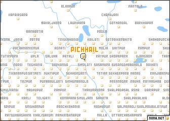 map of Pichhāil