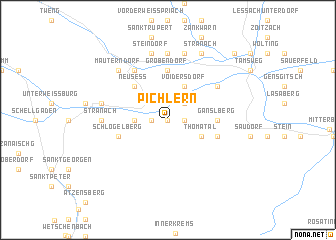 map of Pichlern