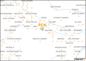 map of Pichl