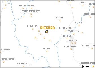 map of Pickard
