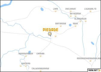 map of Piedade